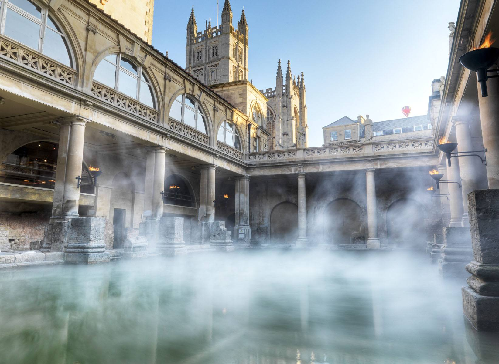 Bath Spa Packages - Ancient & Modern | The Roman Baths