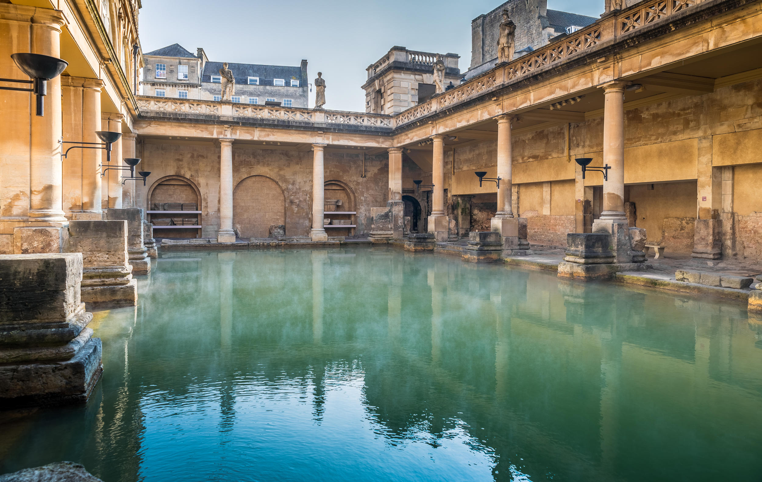 Online ticketing faqs the roman baths for Bristol university swimming pool opening times