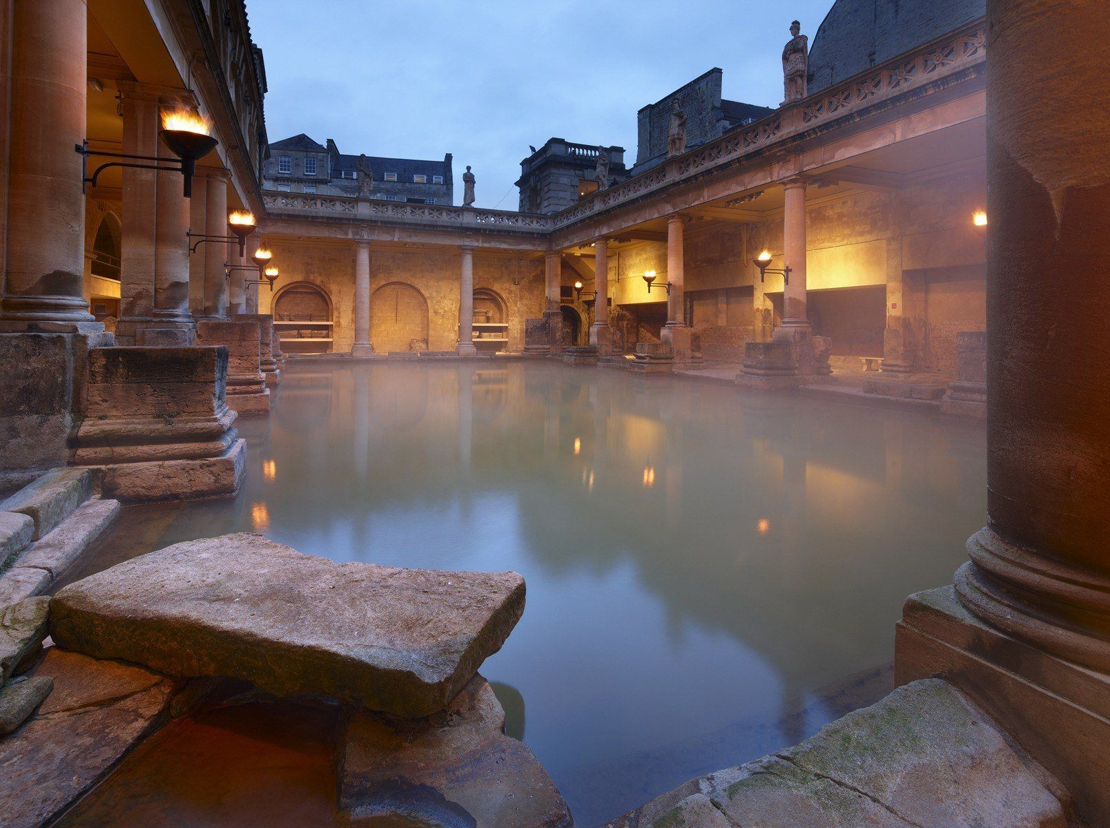 why you should visit south west england this christmas the roman baths. Black Bedroom Furniture Sets. Home Design Ideas