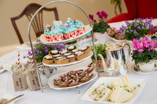 Image: Little Mad Hatters afternoon tea