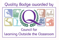 Image: Council for Learning Outside the Classroom badge