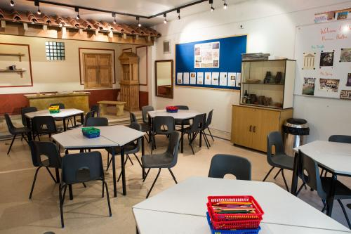 Image: Current education facility