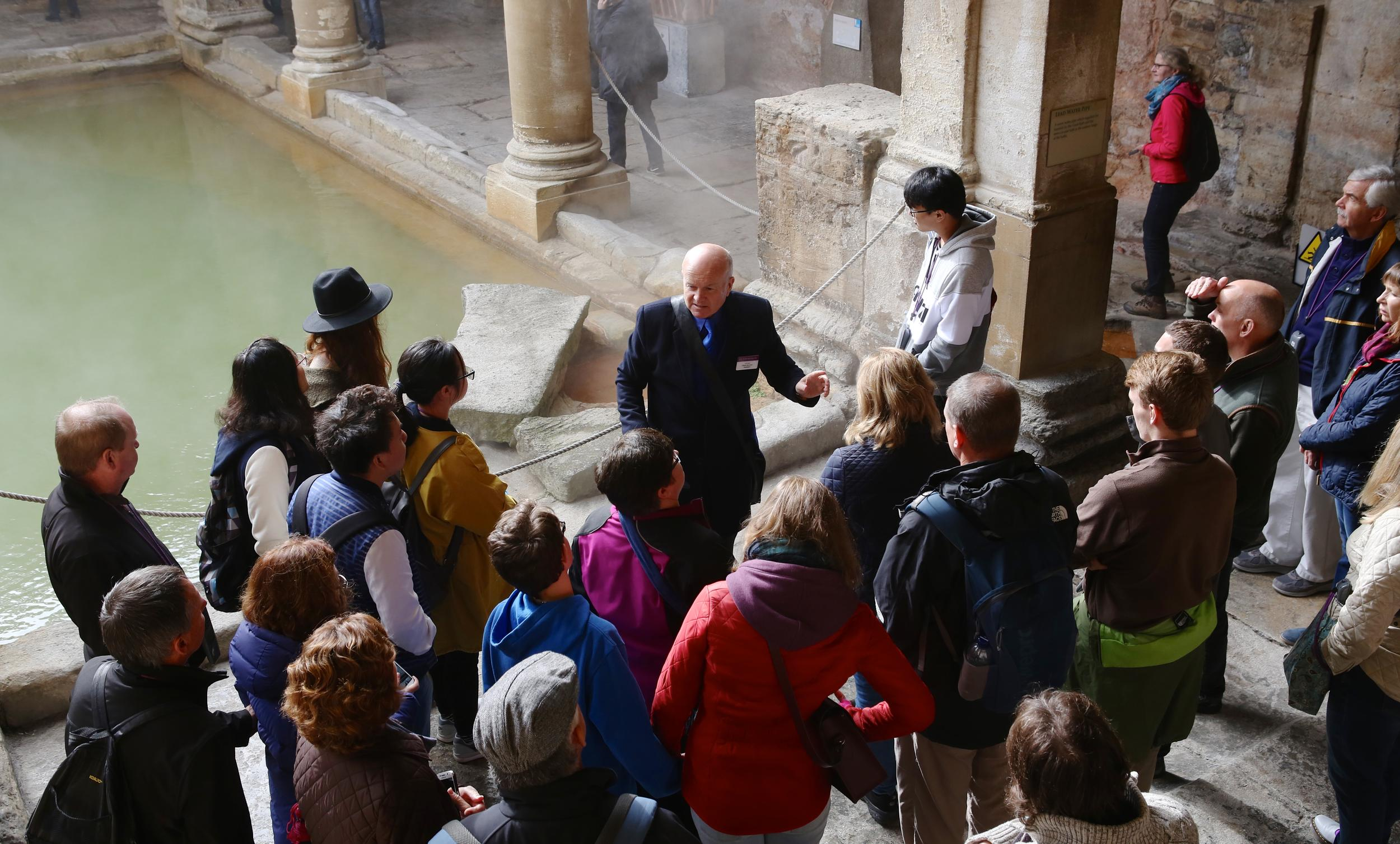 Groups And Schools The Roman Baths