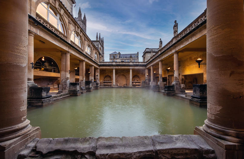 Image: The Great Bath by day