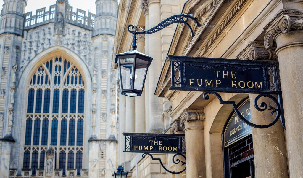 Image: Exterior of the Pump Room