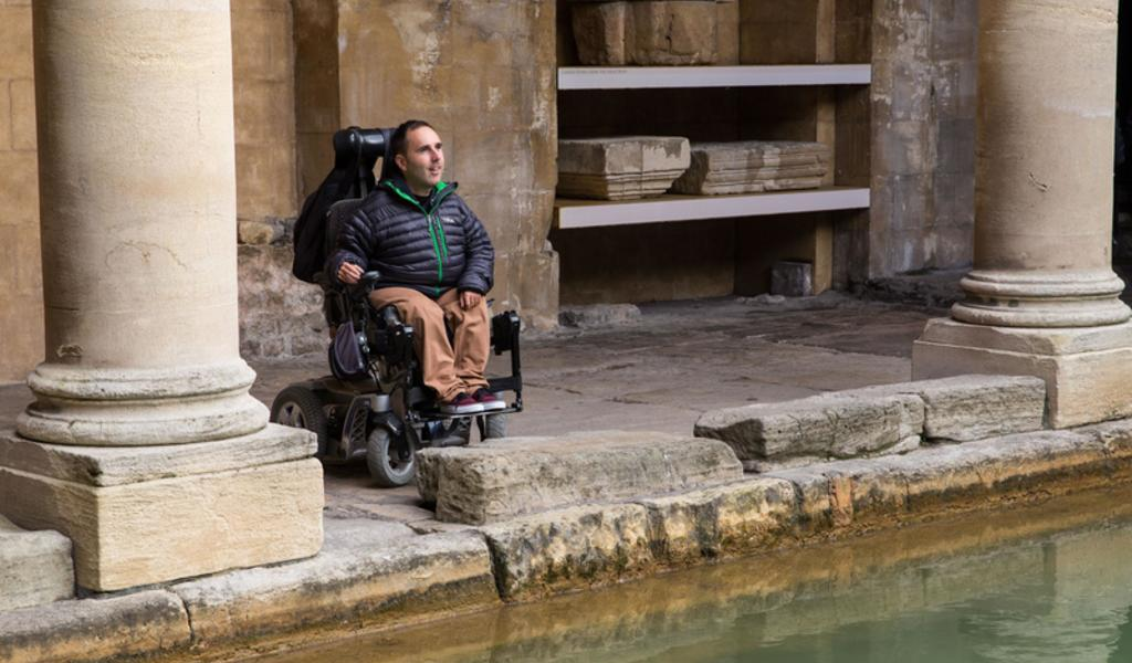 Image: Accessibility at the Great Bath