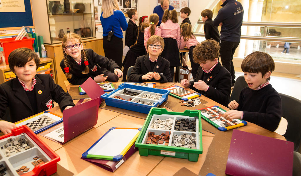 Image: Pupils taking part in a learning session