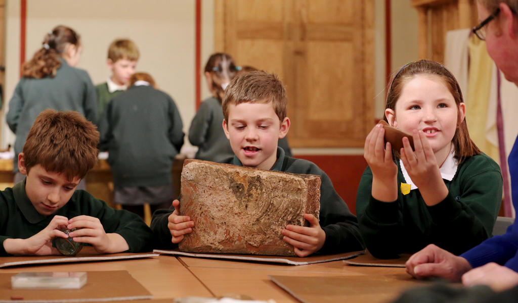 Image: Roman education school visit