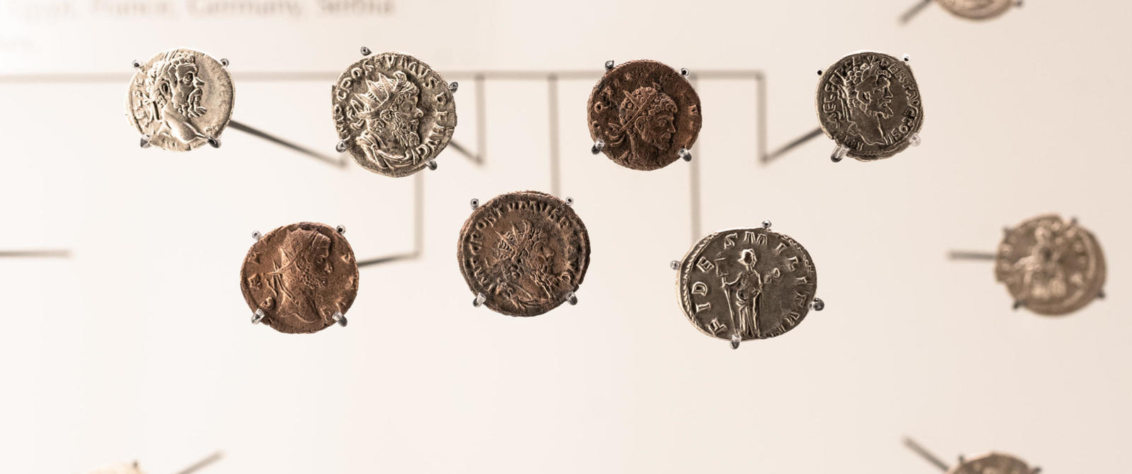 Image: Coins from the Beau Street Hoard