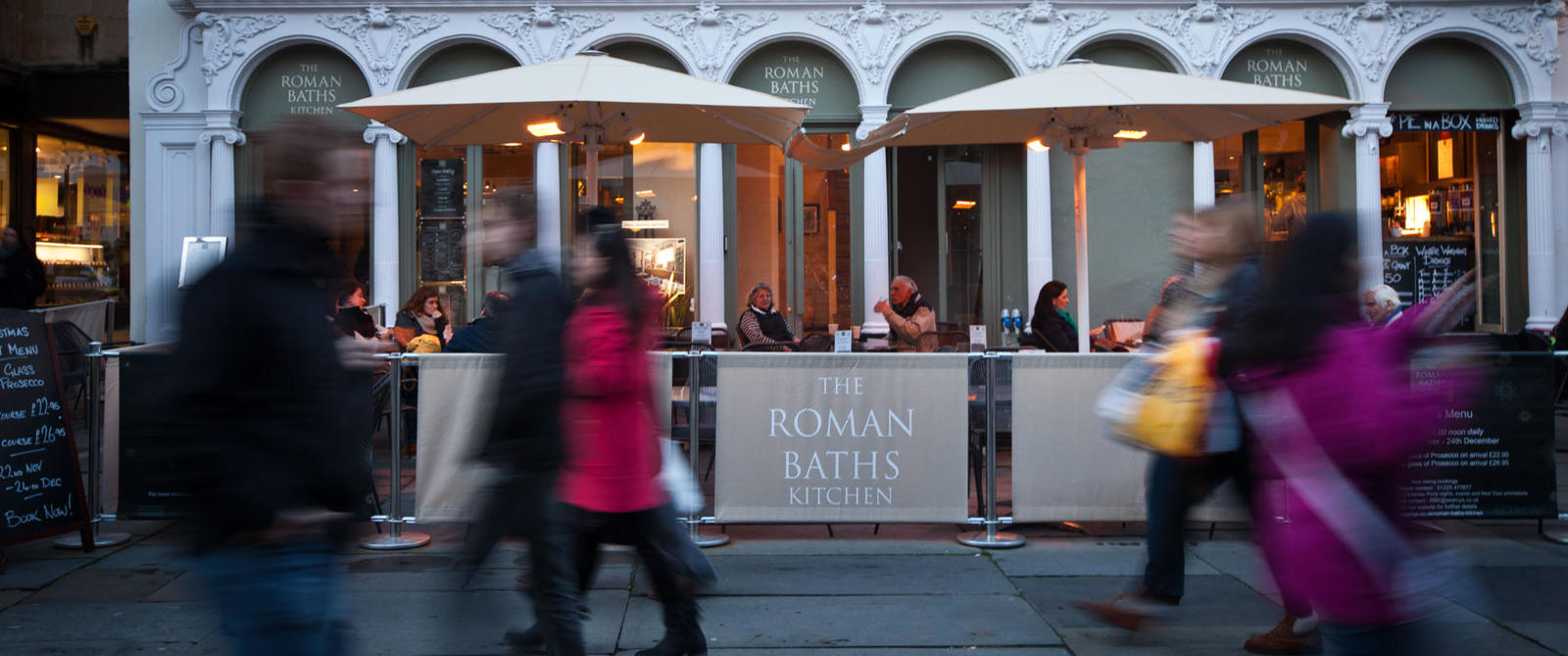 Image: Exterior of the Roman Baths Kitchen