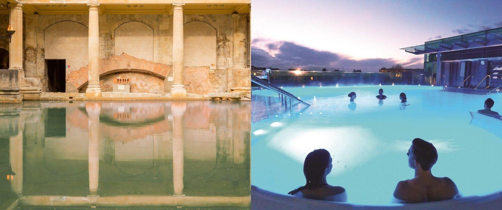 Image: The Roman Baths and Thermae Bath Spa