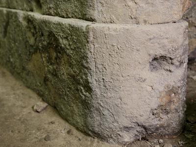 Image: 011. Roman coping Stone from Sacred Spring Balustrade, 102cm by 33 cm, SRB 459ii