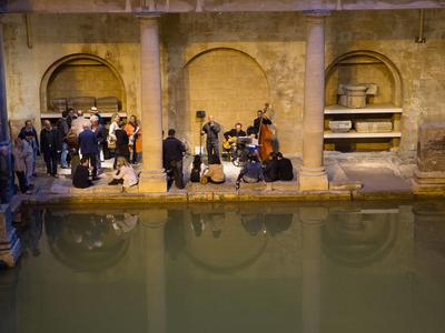 Image: Music at the Roman Baths