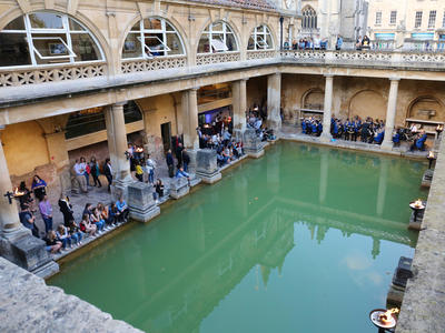 Image: Museums at Night event around the Great Bath