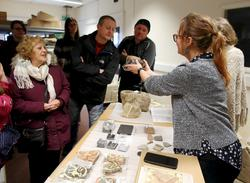 Image: A collections session with the Roman Baths curators