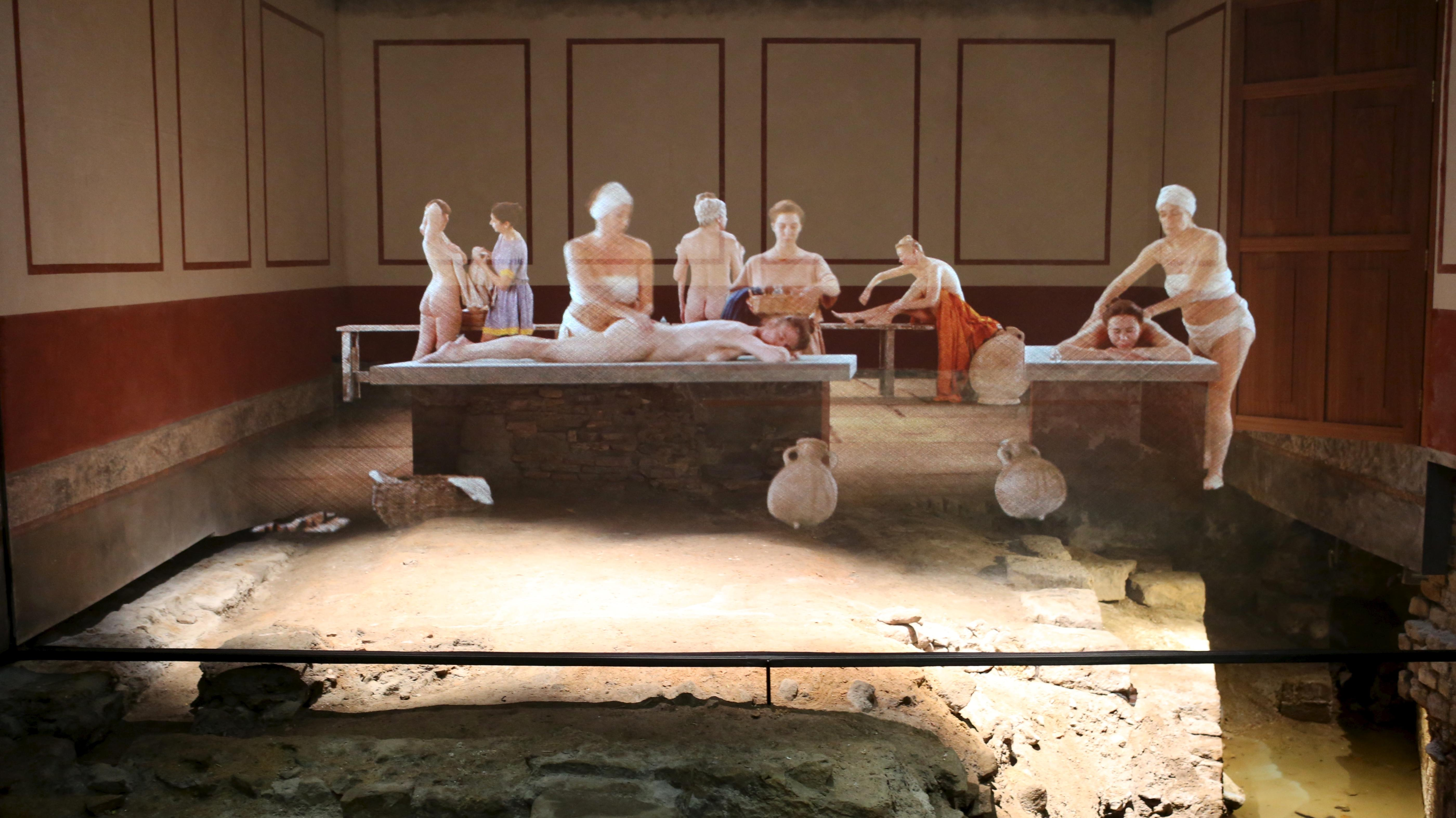 Image: Projections in the East Baths