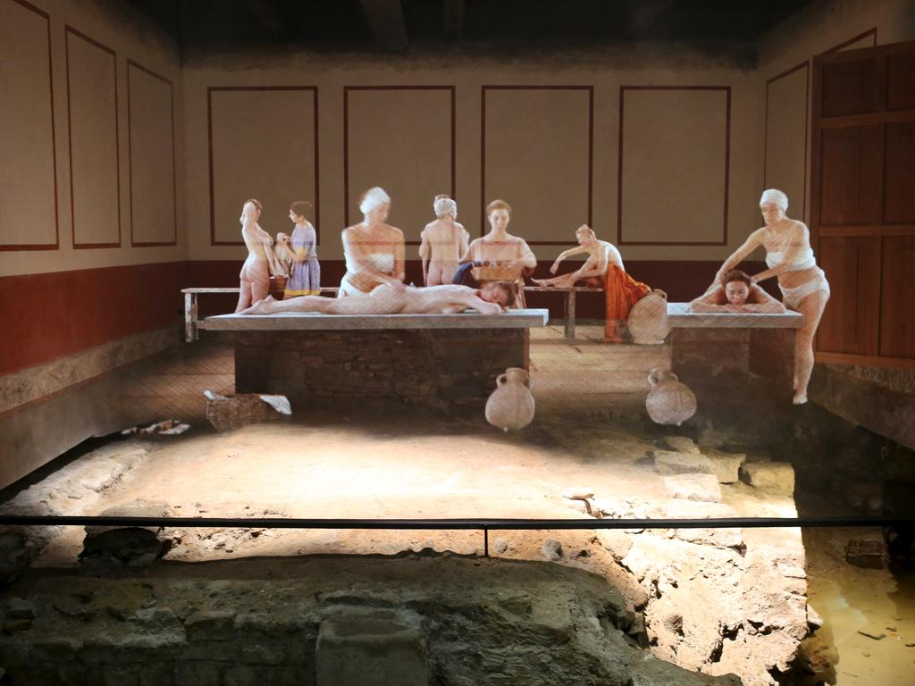Image: Reconstruction of the East Baths