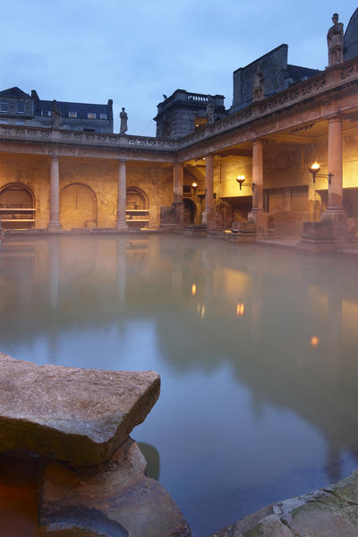 Image: Great Bath early morning