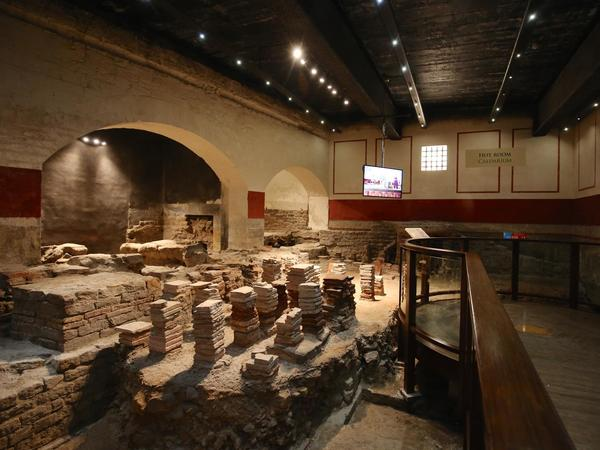 Image: Hypocaust in the East Baths