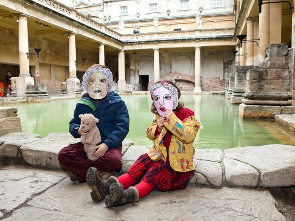 Image: Children's activity at the Roman Baths