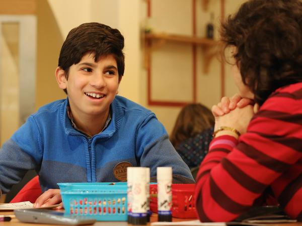 Image: Boy at an activity session