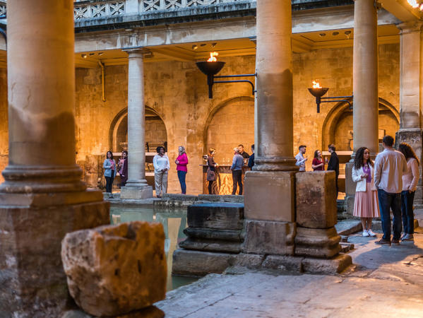 Image: Torchlit Summer Evenings at the Roman Baths