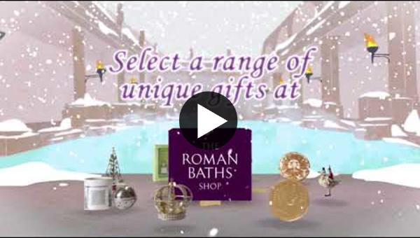 Embedded thumbnail for Christmas products in the Roman Baths shop